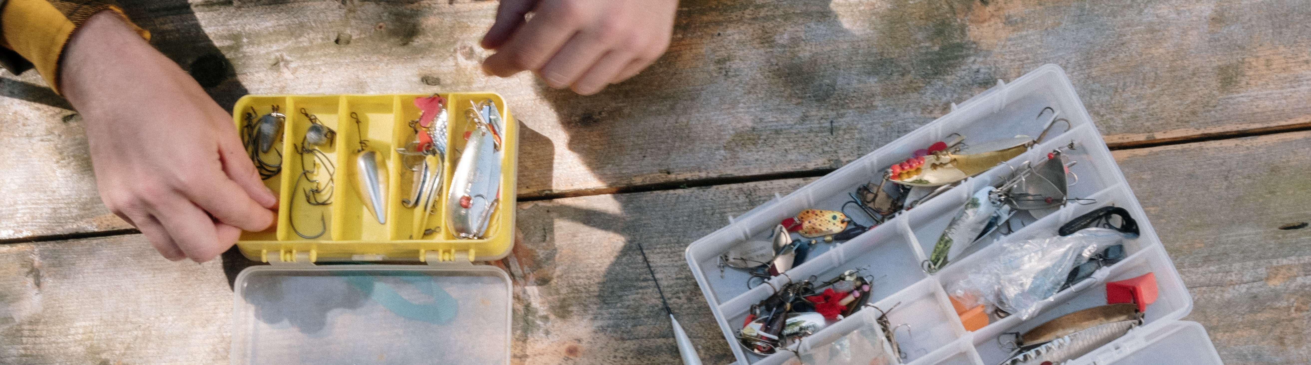 Appâts et accessoires de pêche