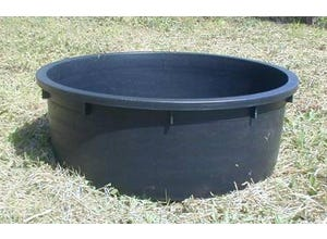 Bac à herbage 150L noir