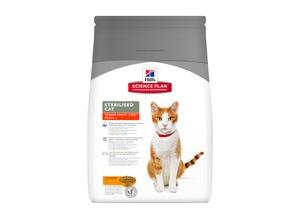 Feline Sterilised Cat Young Adult Poulet 1,5kg