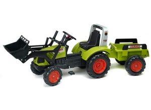 Tracteur Class Arion 430 + remorque et pelle