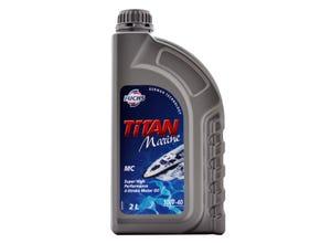 Huile de moteur Titan marine 10W40 - 2L