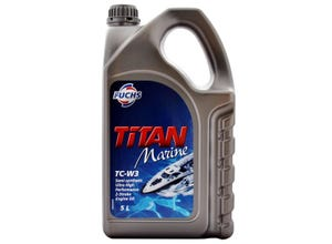 Huile de moteur Titan marine TC W3 - 5L