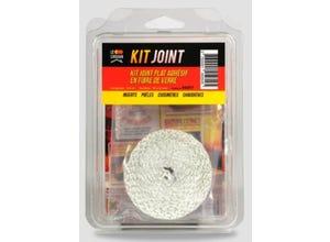 Kit joint thermique plat adhésif 10x2mm long. 2,5m