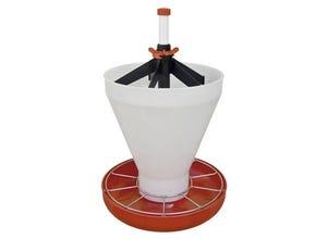 Mangeoire maxi hopper pan contenance 18 L