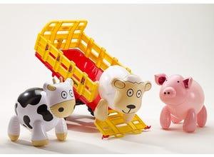 Remorque Farm wagon + Animaux