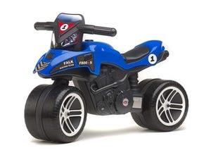 Moto bleue à pédales - 501