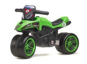 Moto verte à pédales - 502