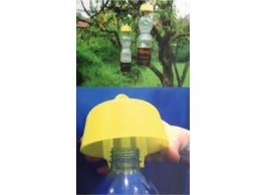 Dispositif pour fabriquer des pièges à guêpes LUCIFER