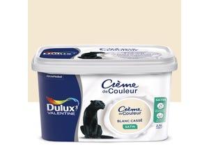 Crème de couleur  satin blanc cassé 2,5 l