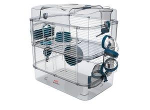Cage Rody3 duo - L 41xp27xh40,5cm - Bleu