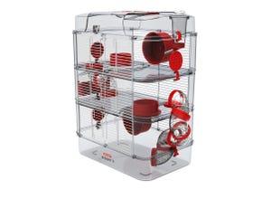 Cage Rody3 trio - L41xp27xh53cm - Grenadine