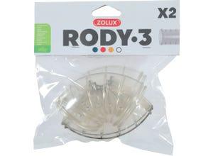 Tube coudé pour cage Rody3 - Roylounge - 2 pièces