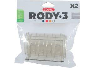 Tube droit pour cage Rody3 - Roylounge - 2 pièces