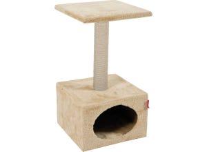 Arbre à chat solo - L30xp30xh54cm - beige