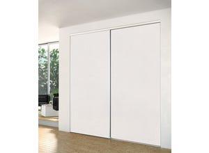 Porte recoupable 1P 61,4 cm BNS blanc
