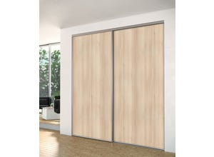 Porte recoupable 1P 61,4 cm acacia creme gris