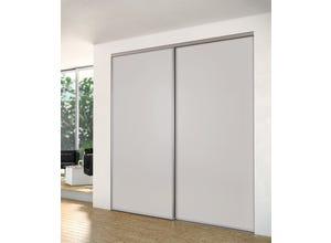 Porte recoupable 1P 61,4 cm tourterelle gris