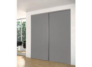 Porte recoupable 1P 61,4 cm gris souris gris