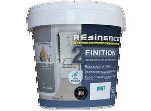 Résine de protection - Finition Mat 500 ml