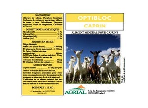 Optibloc Caprins 12 kg