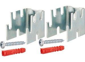 Support de radiateur acier écartement du mur 12-22-34-42 mm
