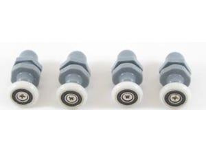 Roulettes pour cabines de douche diam 26mm