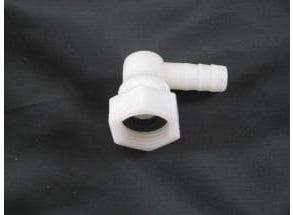 Coude d'alimentation en PVC pour cabines de douche