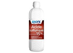 Acide sulfurique 15% 1 L ONYX