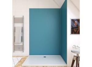 Panneau mural bleu 120X210cm