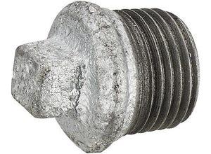 Bouchon galva tête carrée Mâle M15x21