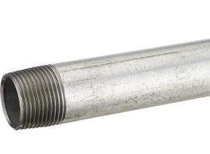 Tube fer galva L20 cm M26x34
