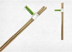 2 tuteurs bambou naturel BAMBOO ø10/12mmx H1,50m