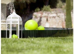 Bordure en plastique GREENBORDER verte 9m