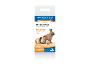 Equilibrant digestif rongeurs Intestinet 10g
