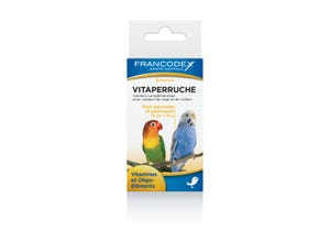 Vitaperruche - perruche & perroquet - 18 g + 15 ml