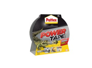 Power tape - 1001 usages - gris - 25m