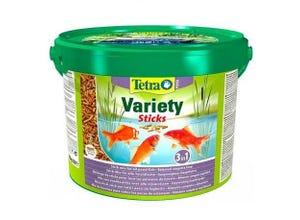 Aliment complet Pond poiss bassin mix sticks 10L