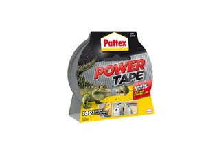 Power tape - 1001 usages - gris - 10m