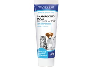 Shampooing doux - chiot et chaton - 200 ml