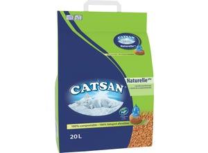 Naturelle Plus litière minérale pour chat 20L