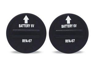 Pack de 2 piles 6 volts - RFA67D-11