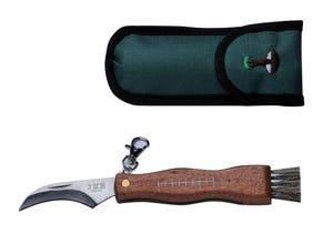 Couteau à champignons avec étui