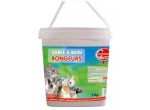 Sable à bain pour rongeurs en 3kg - COUSTENOBLE