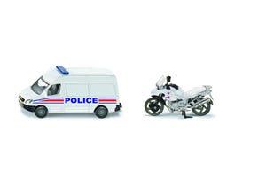 Miniature set police Française