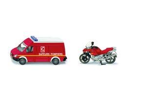 Miniature set de Pompiers Français