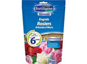 Engrais Osmocote rosiers, arbustes à fleurs - 750 g