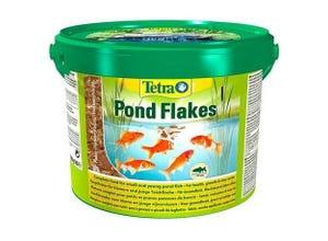 Aliment complet TetraPond flocon poisson de bassin 10L