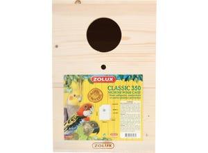 Nichoir en bois pour oiseaux domestiques 23x23x33,5cm