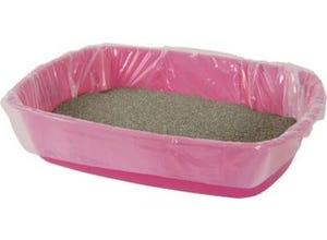 Sacs de protection pour bac à litière chat 43x30cm (x12)