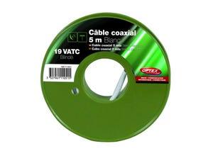 Câble coaxial 19 VATC blanc OPTEX